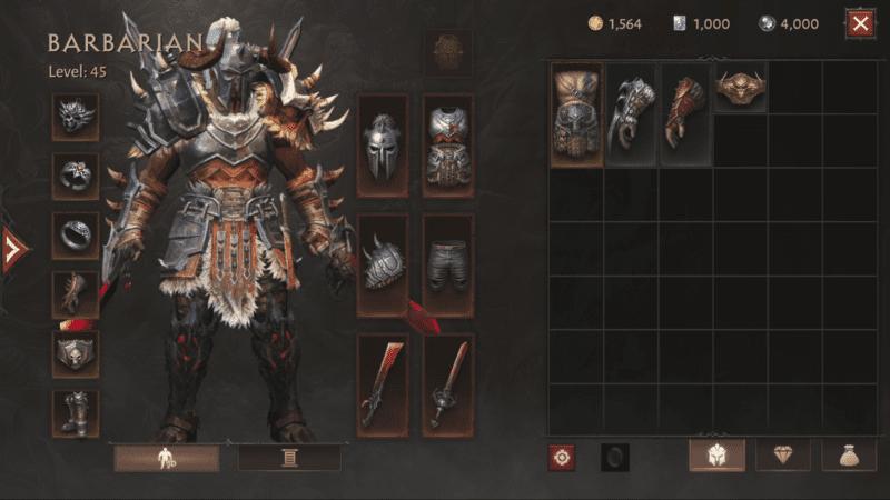 Diablo Immortal - Ottieni equipaggiamenti e accresci la tua forza