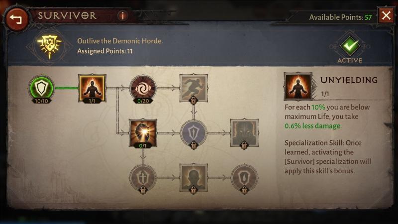 Diablo Immortal - Sbloccare le abilità d'eccellenza