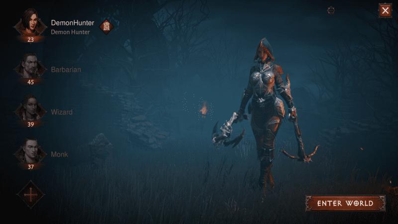 Diablo Immortal - Scegliere la propria classe