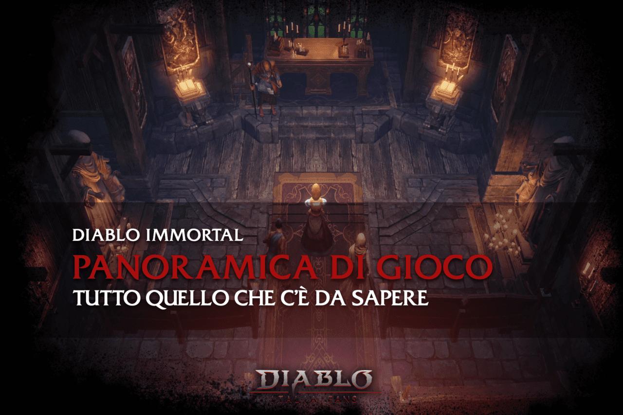 Diablo Immortal - panoramica di gioco