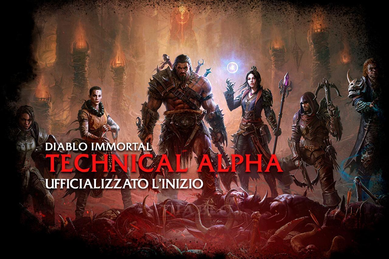 Diablo Immortal Alfa Tecnica ufficiale