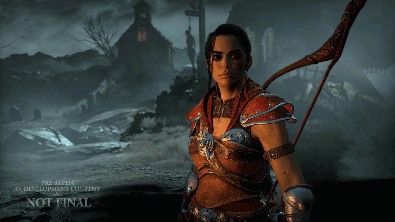 Diablo IV Tagliagole Rogue selezione personaggio