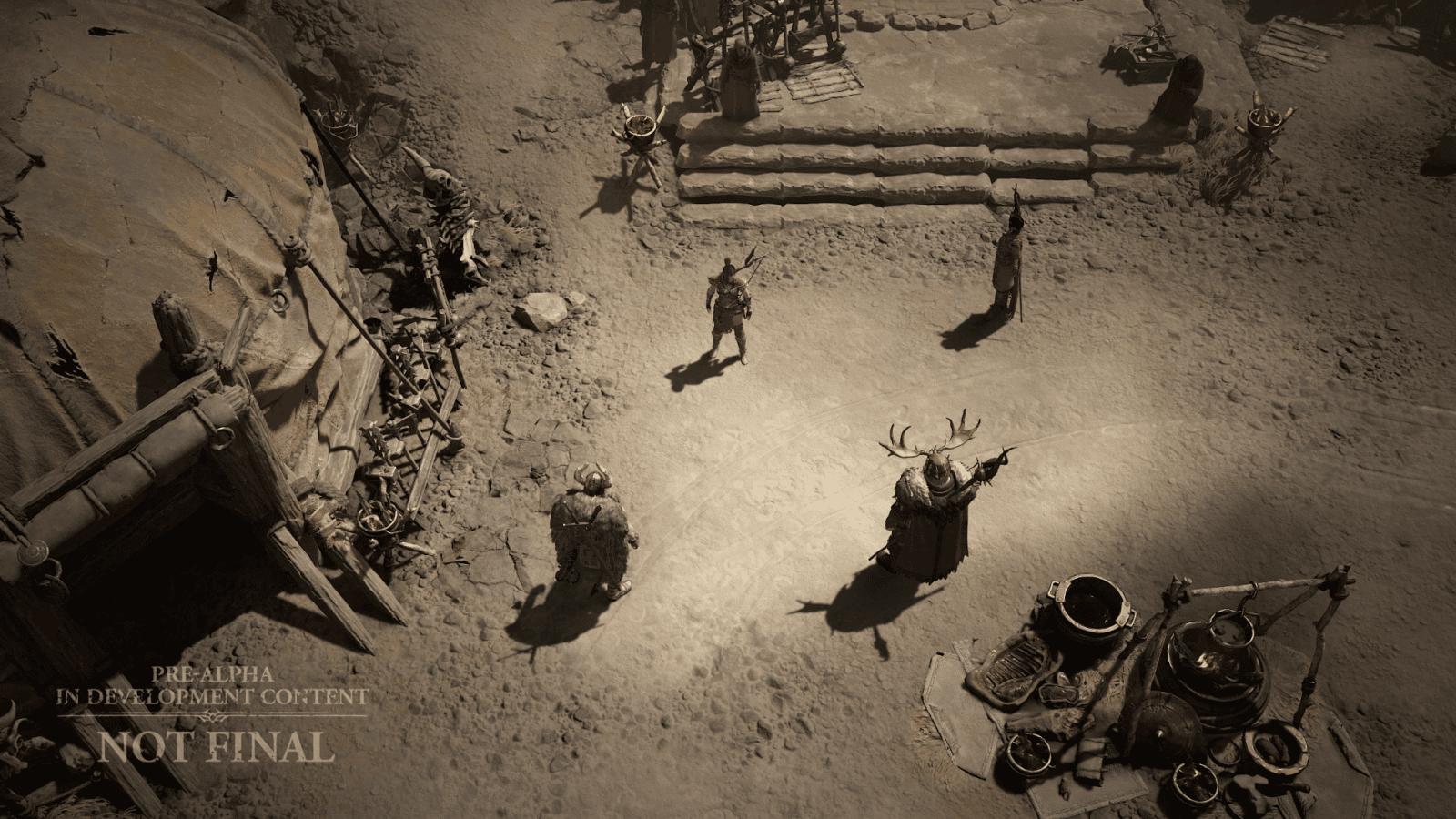 Diablo IV Tagliagole Rogue accampamento