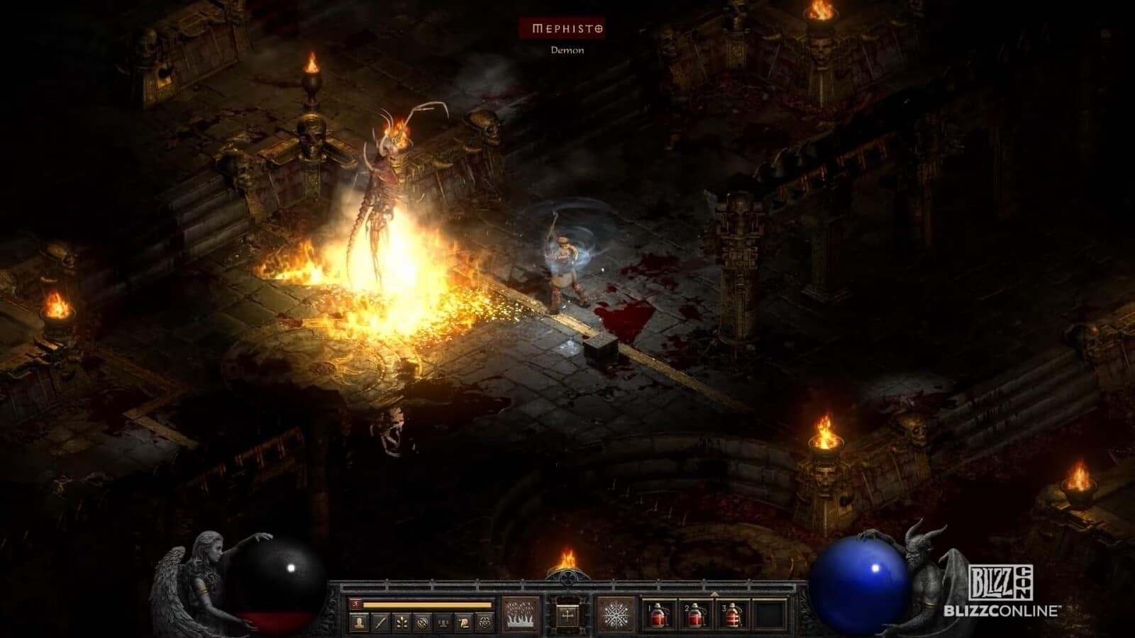 Diablo 2 Resurrected immagini di gioco