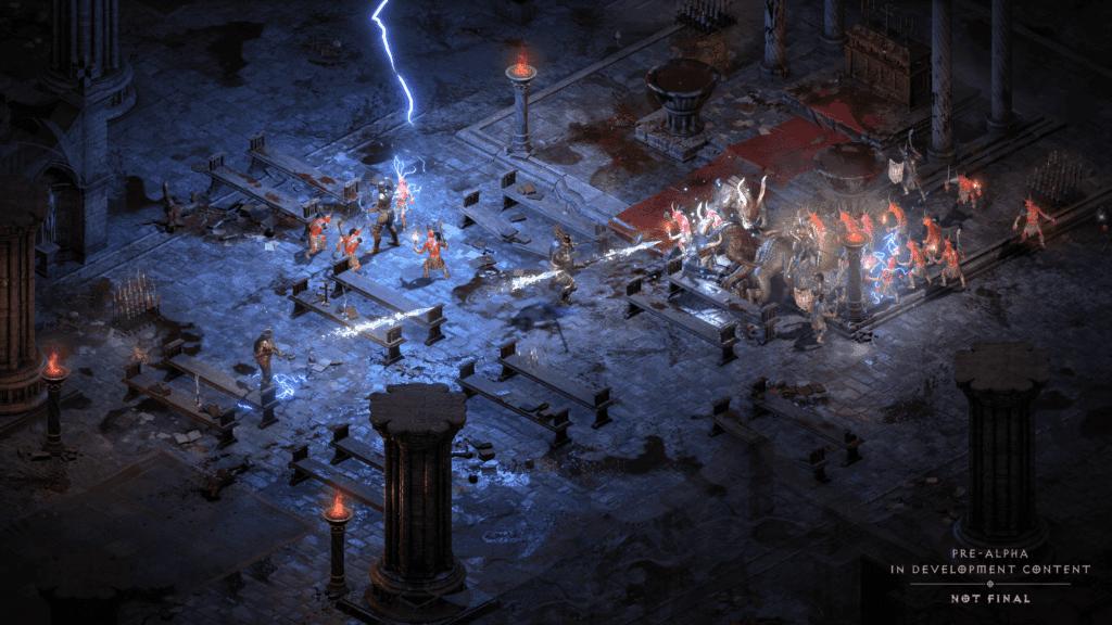 Diablo 2 Resurrected: Cattedrale