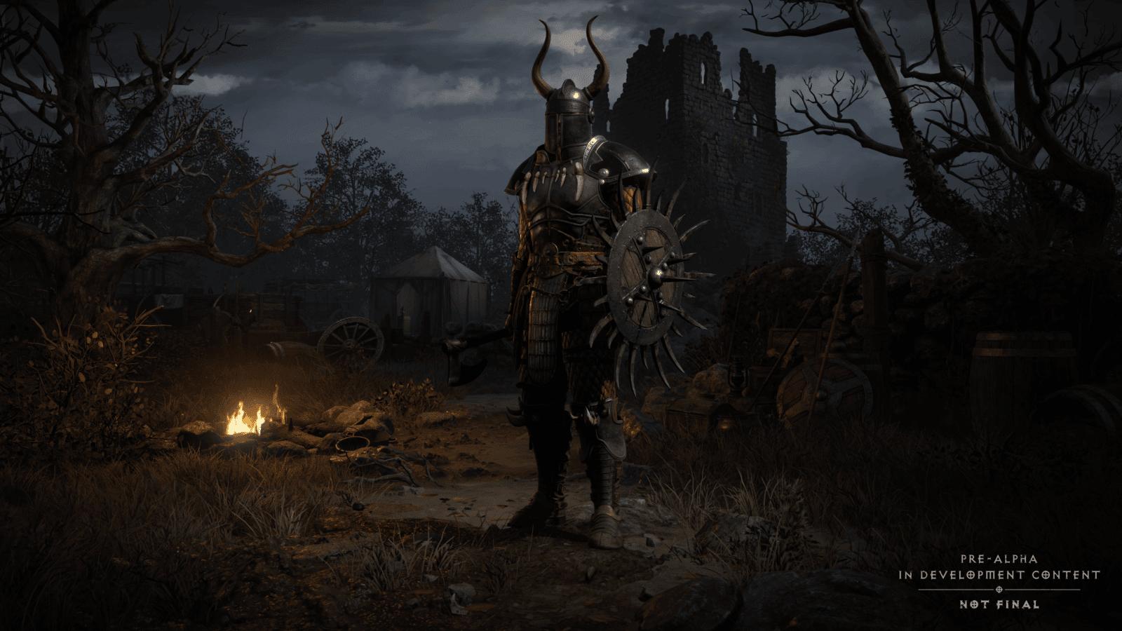 Diablo 2 Resurrected: Selezione personaggio atto 1