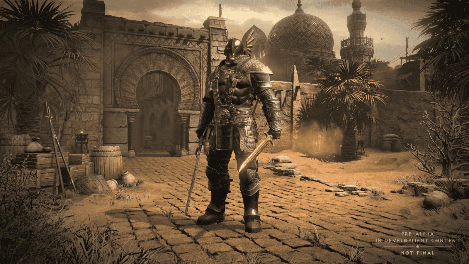 Diablo 2 Resurrected: Selezione personaggio atto 2