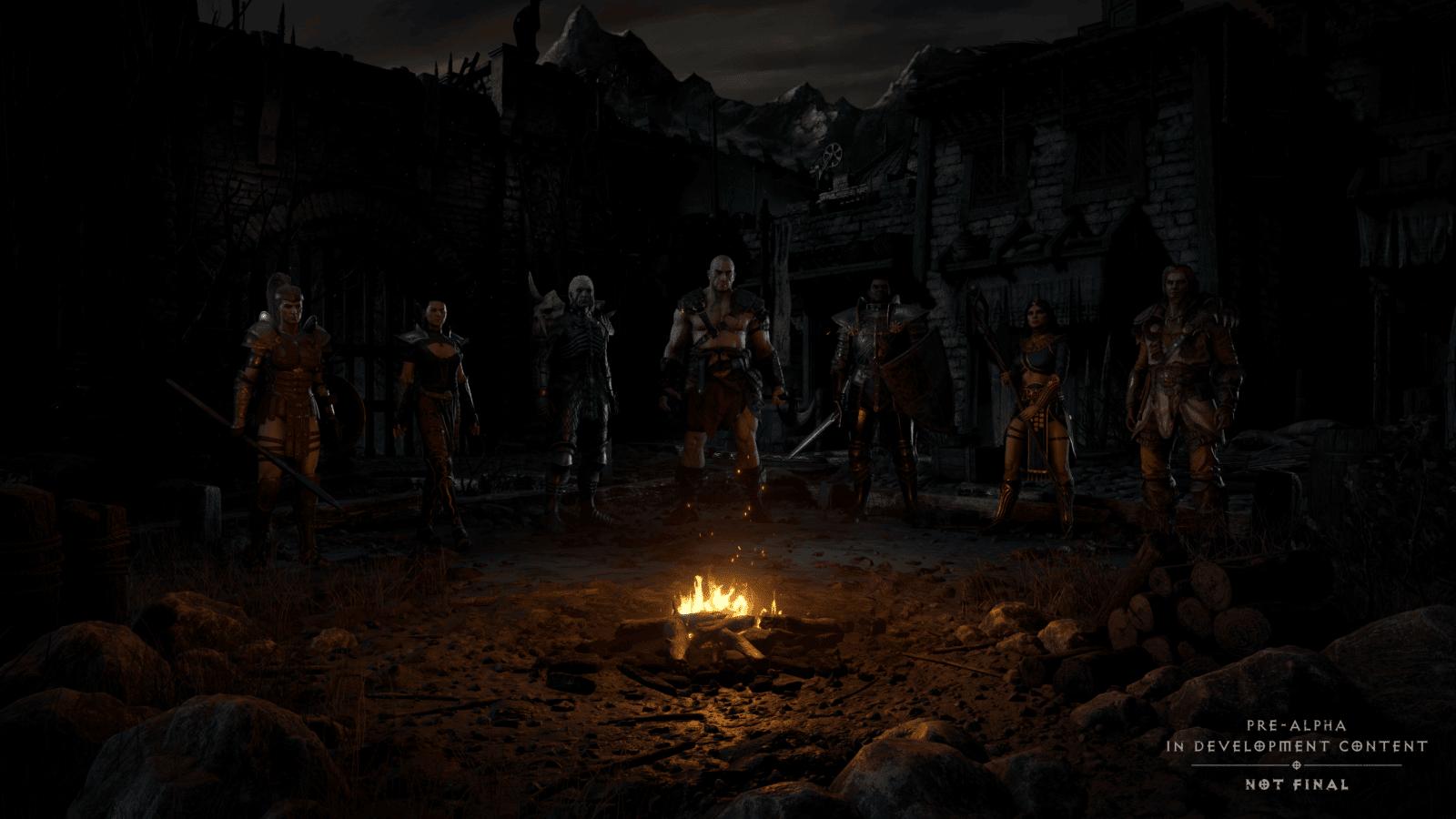 Diablo 2 Resurrected: selezione eroi
