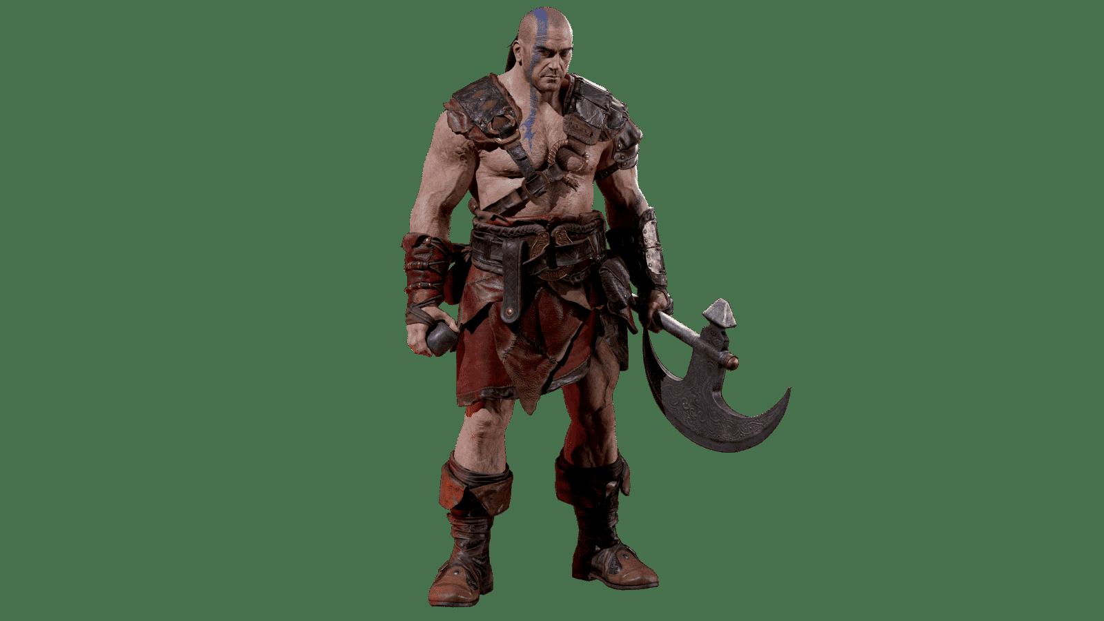 Diablo 2 Resurrected Barbaro