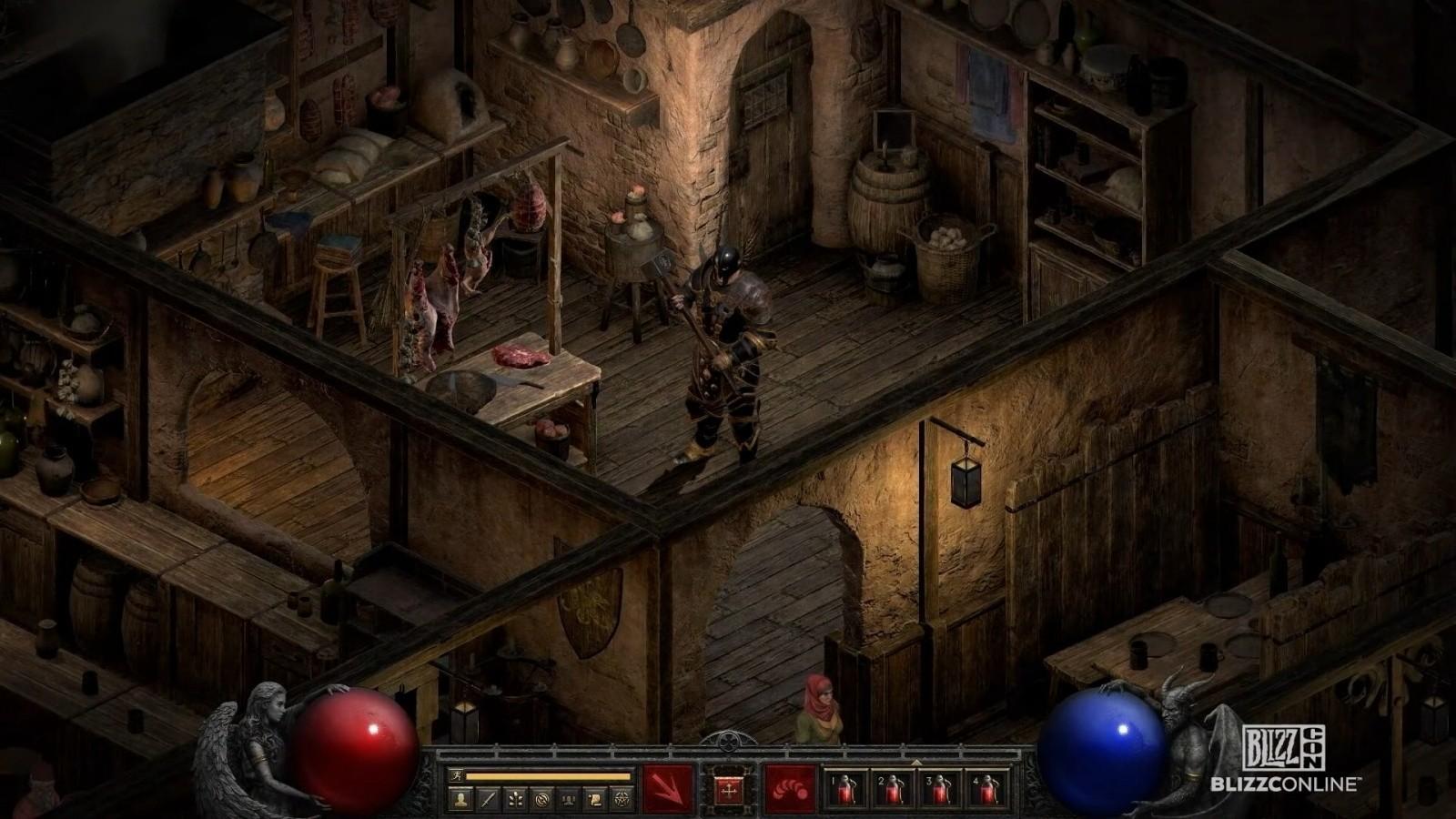 diablo 2 resurrected ambienti zoom grafica rinnovata