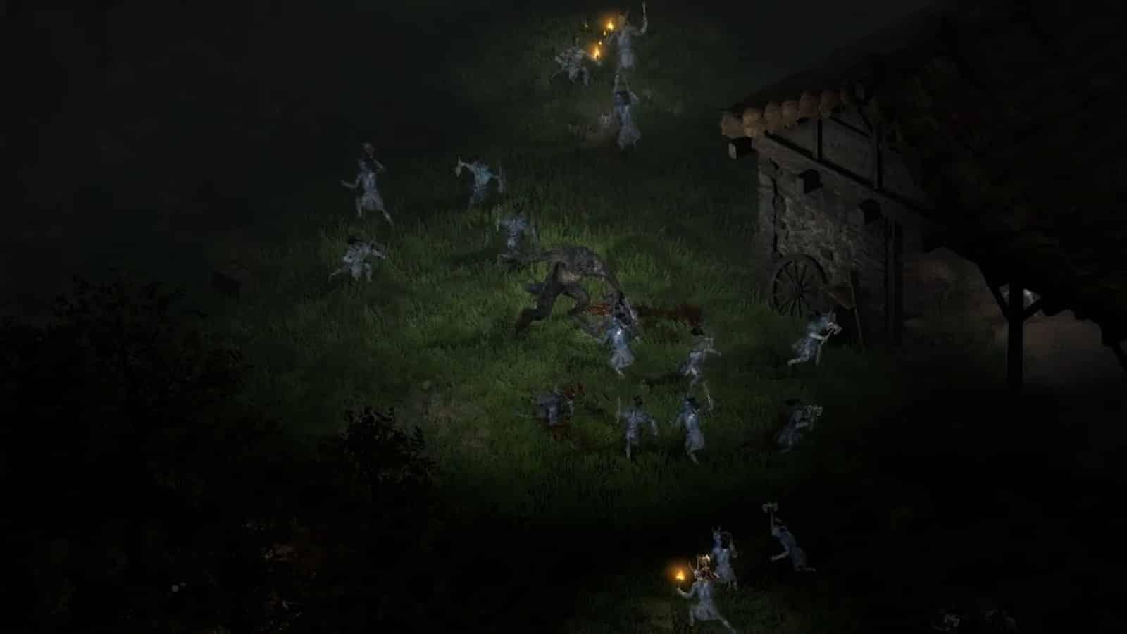diablo 2 resurrected console e pc