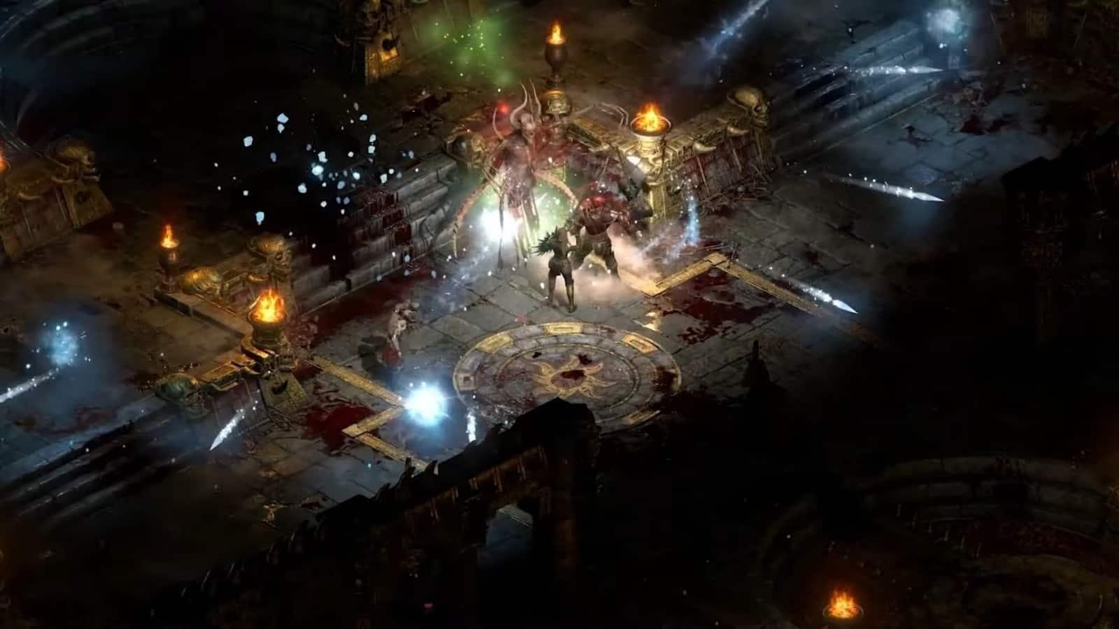 Diablo 2 Resurrected rendering