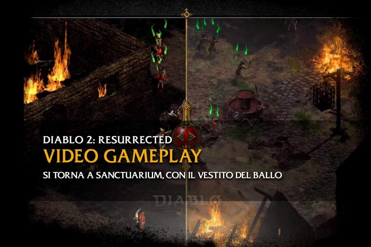 diablo italia fans diablo2 resurrected gameplay