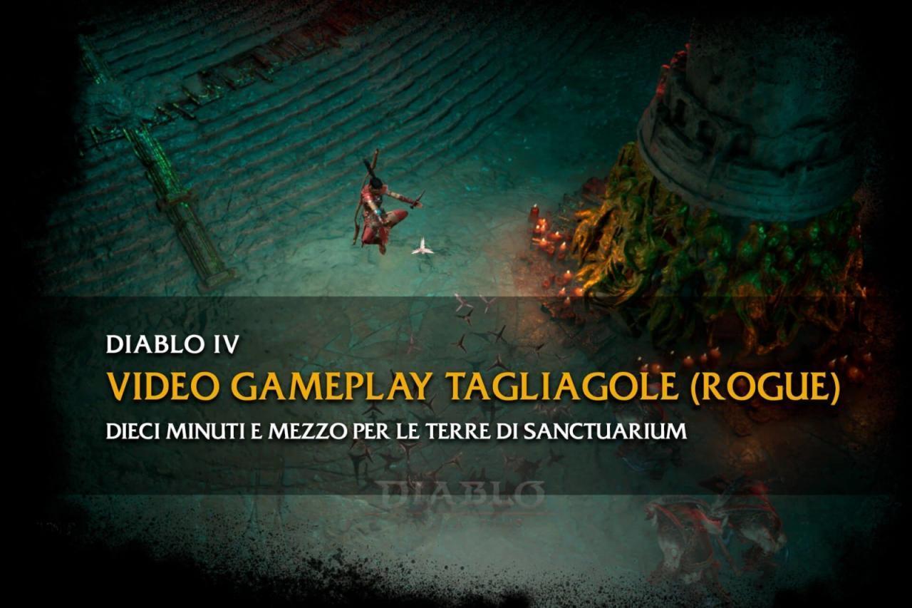 diablo italia fans video gameplay tagliagole nuova classie quarto capitolo diablo