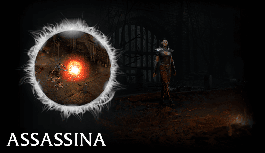 Assassina Diablo 2 Resurrected
