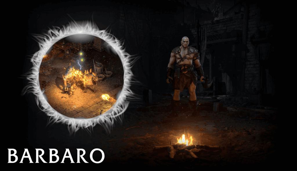 Barbaro Diablo 2 Resurrected