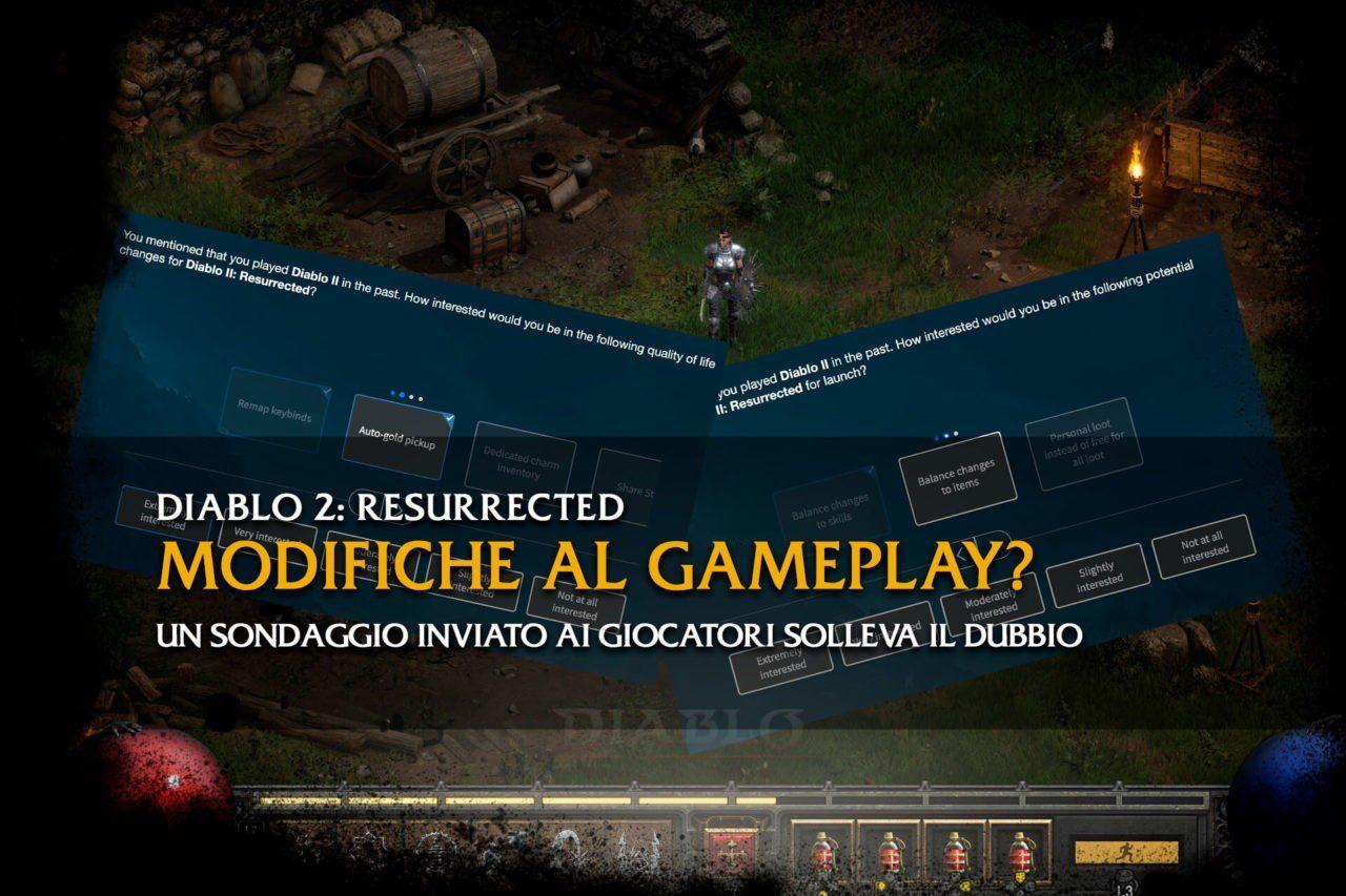 Diablo 2: Resurrected modifiche al gameplay