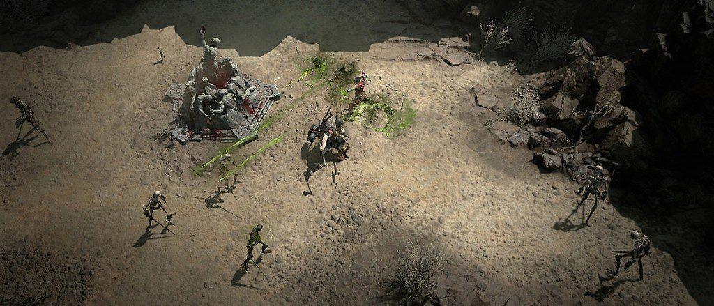Diablo 4 pvp campi della morte