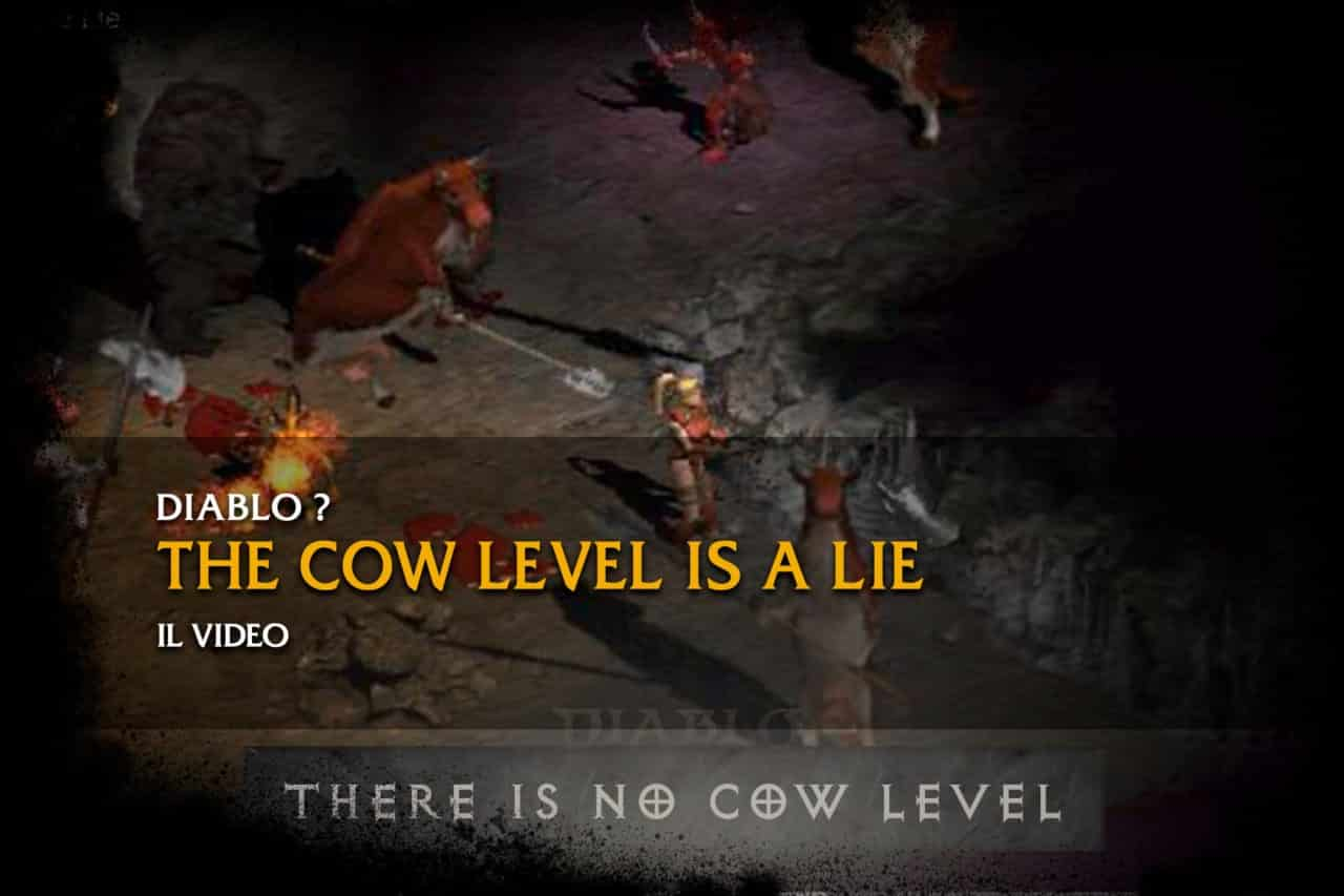 there is no cow level diablo 2 resurrected