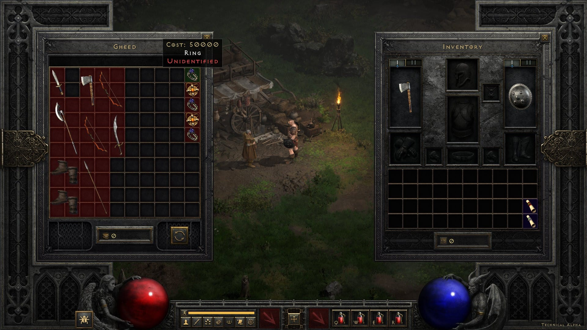 Diablo 2: Resurrected - Vendor