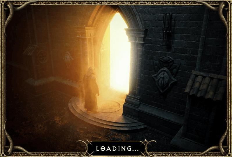 Diablo 2 Resurrected - loading
