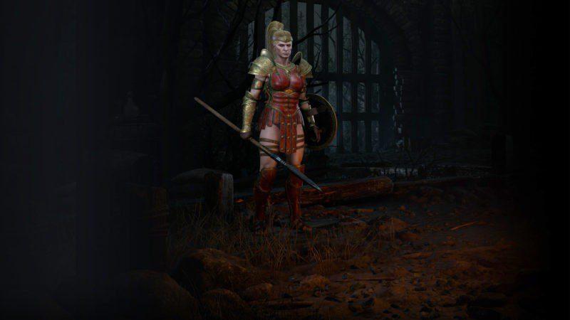 Diablo 2: Resurrected Amazzone