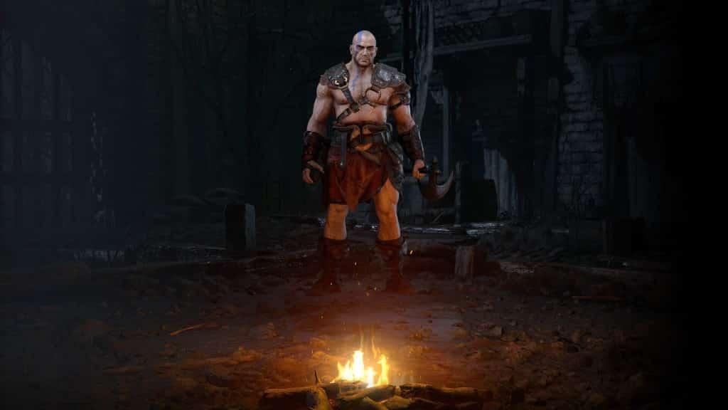 Diablo 2: Resurrected Barbaro