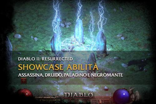 Diablo 2: Resurrected – Showcase Assassina, Druido, Paladino e Negromante
