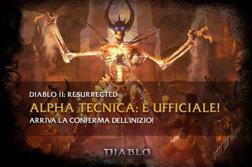 Diablo 2: Resurrected – Arriva la data ufficiale della Alfa Tecnica