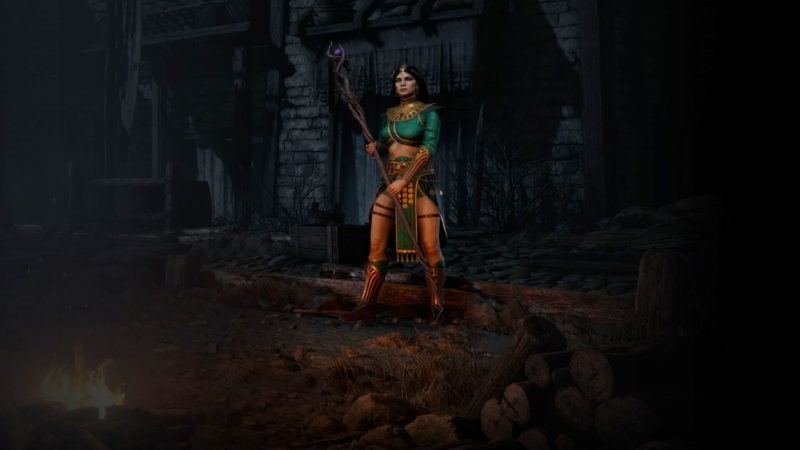 Diablo 2: Resurrected Incantatrice