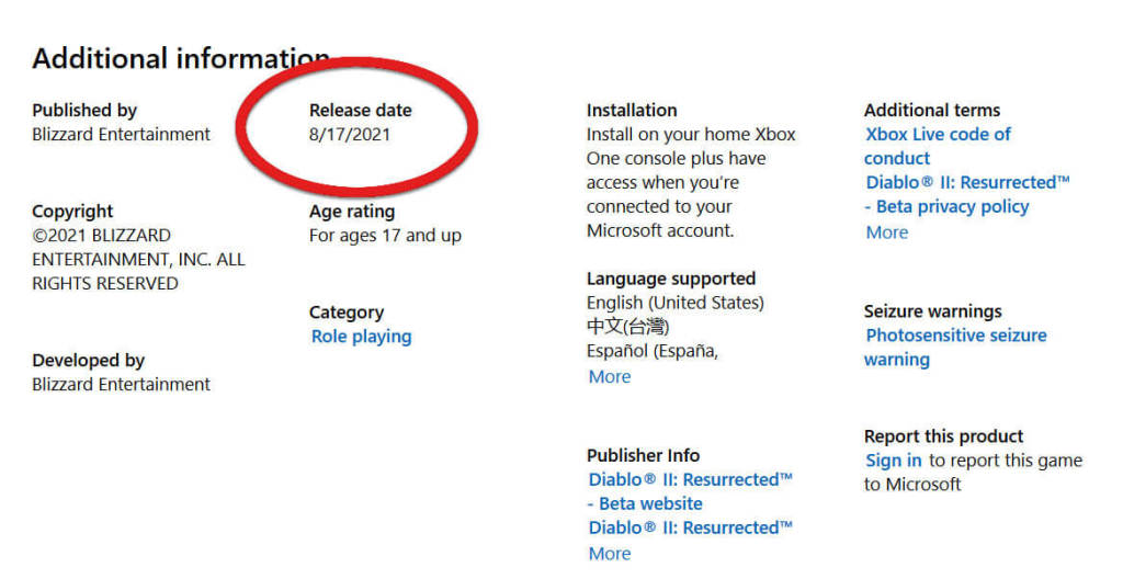 Microsoft data uscita beta di Diablo 2 Resurrected